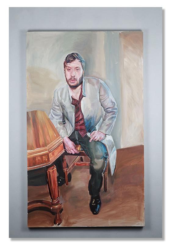 Self-Portrait,-Oil-on-Canvas-2018